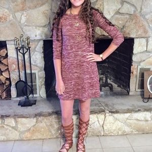 Hollister Maroon Dress